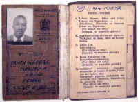 South Africa pass book